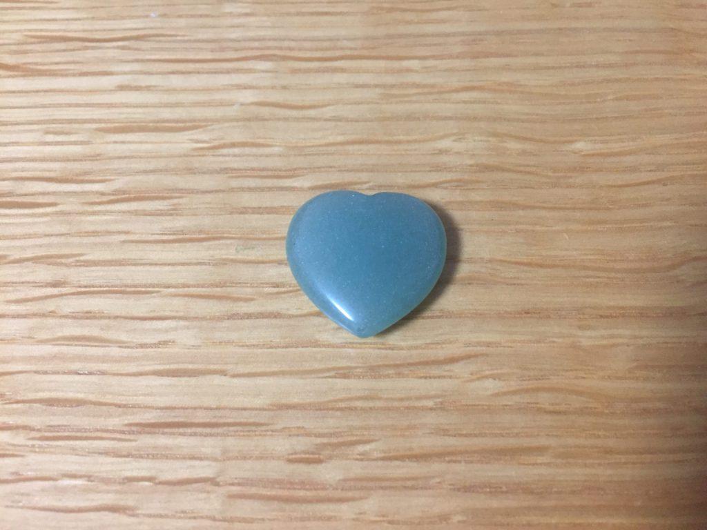 宝物のハートの石の写真