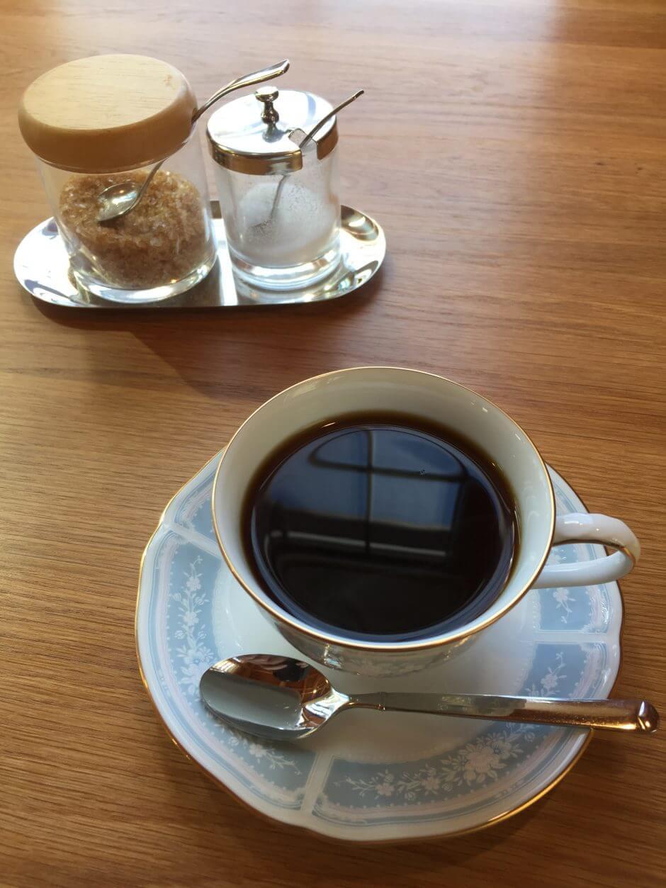 珈琲香楽のコーヒーの写真