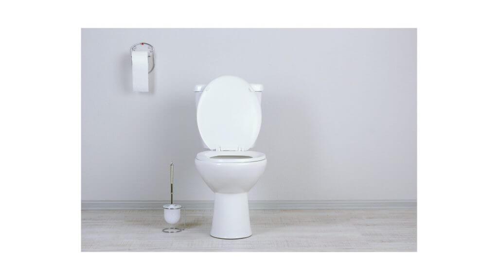寒いトイレの写真