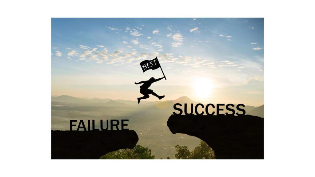 失敗?成功?のイメージ