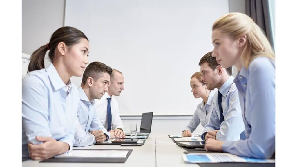団体交渉のイメージ
