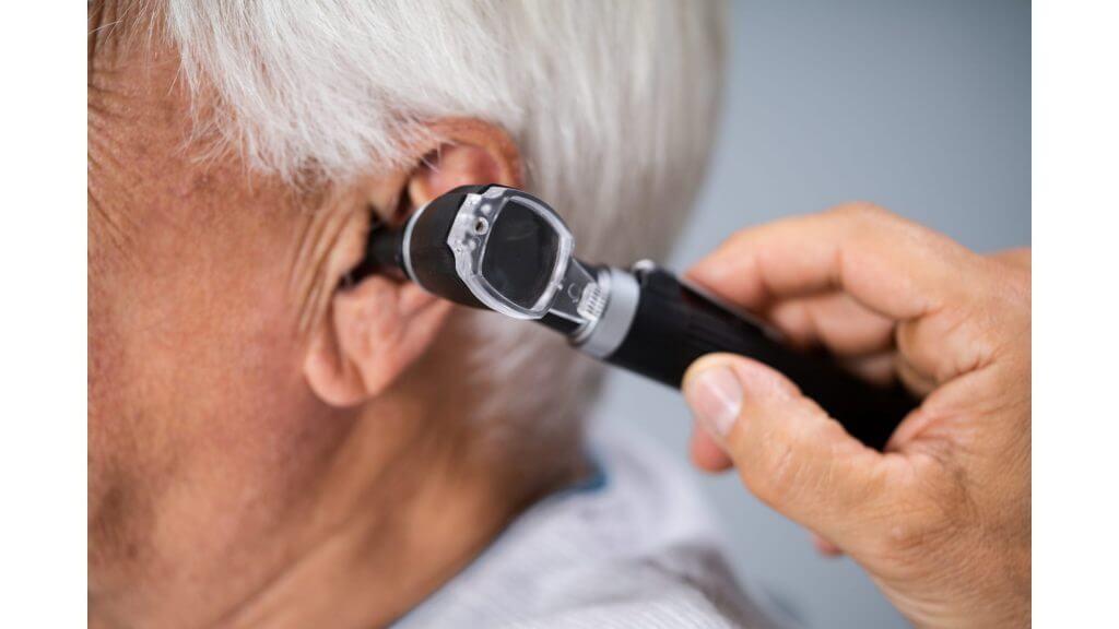 耳垢の検査のイメージ