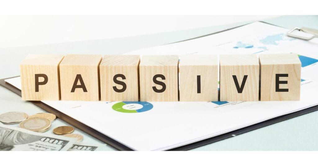 passiveと書かれた文字