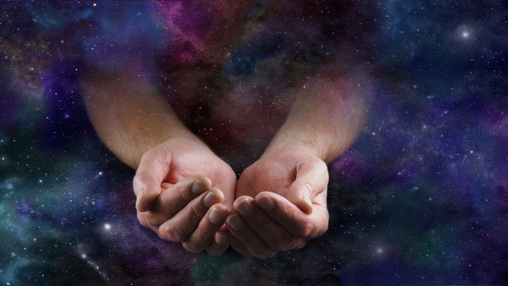 神と宇宙のイメージ
