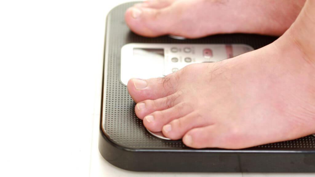 体重測定のイメージ写真